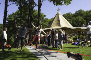 fforest gather tightrope walking lesson