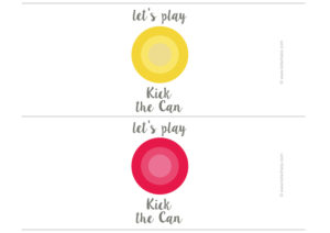 free printable kick the can